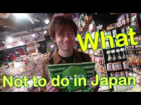 What not to do in Japan